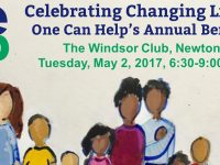 YOU ARE INVITED! Celebrating Changing Lives: One Can Help's Annual Benefit